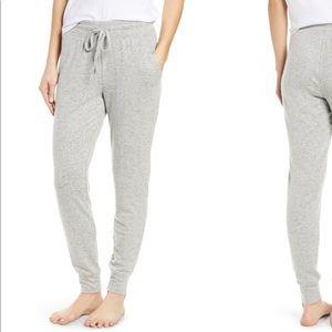 BP cozy grey hacci brushed plush jogger sweats L